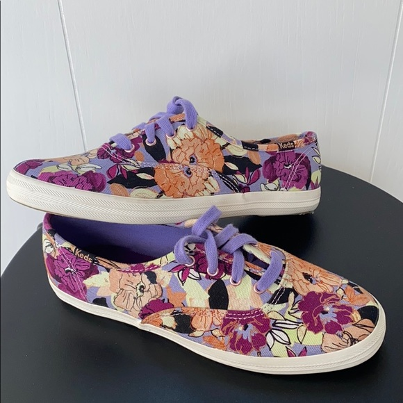 Keds Shoes   Floral Sneakers   Poshmark
